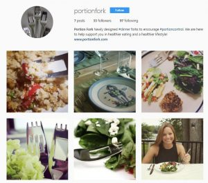 Portion Fork Instagram sample