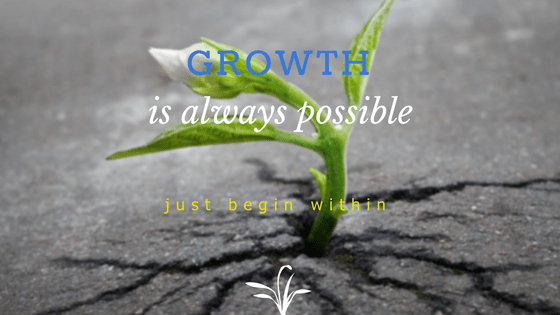 about- growth begins within