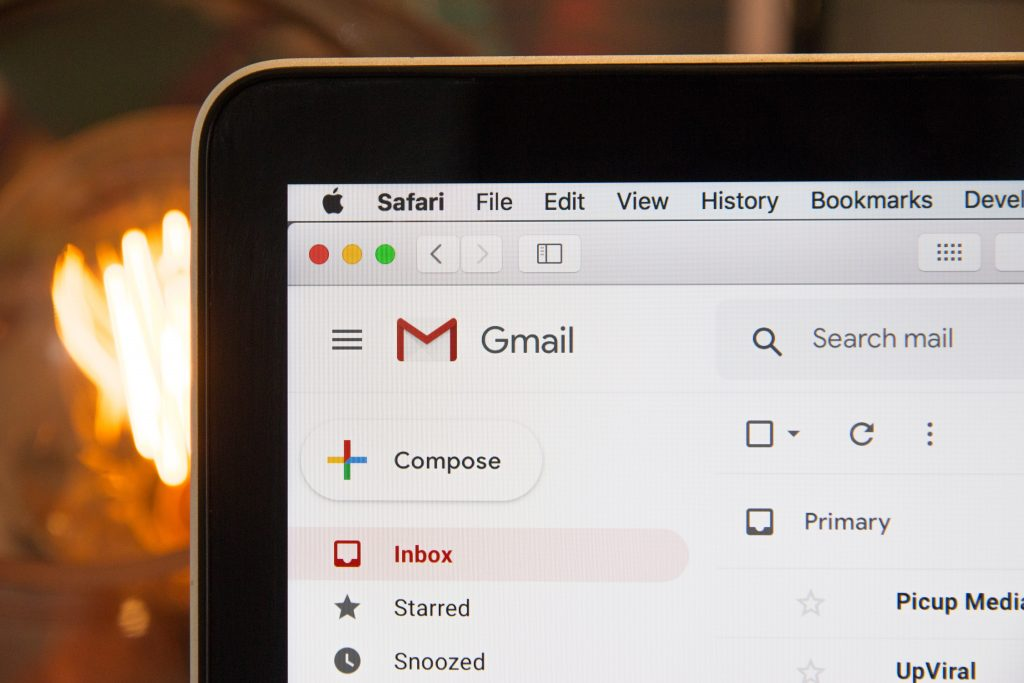 gmail laptop Photo by Webaroo on Unsplash