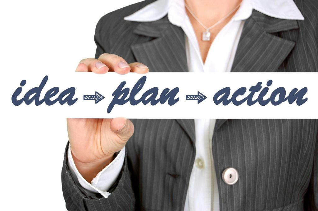 idea-plan-action Image by Gerd Altmann from Pixabay